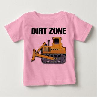De Streek van het vuil (Bulldozer) - Uw Baby Fijne Baby T Shirts
