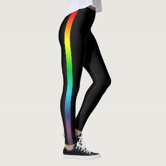 De Streep van de regenboog Leggings