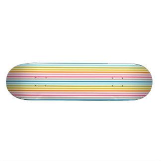 """De Strepen van de regenboog rijden 7 7/8"""" met een Skateboard Decks"""