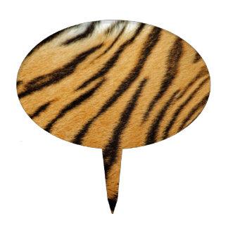 De Strepen van het Bont van de tijger Cake Toppers