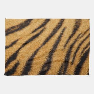 De Strepen van het Bont van de tijger Keuken Handdoek