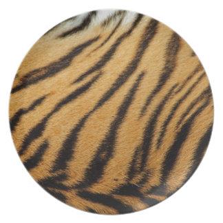 De Strepen van het Bont van de tijger Party Borden