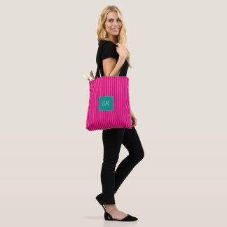 De Strepen van het snoep in Roze Cerice > Trendy Draagtas