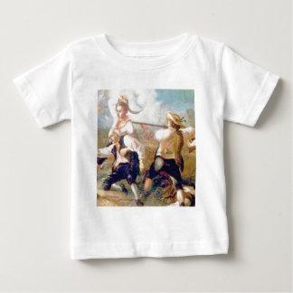 de strijd met uw zou kunnen baby t shirts