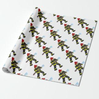 De Strijd van de brand Inpakpapier
