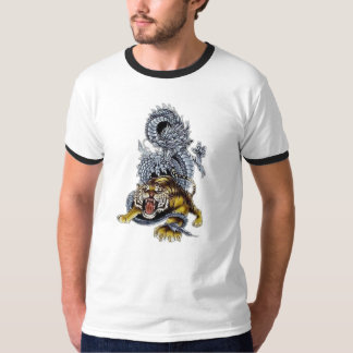 De Strijd van de tijger & van de Draak T Shirt