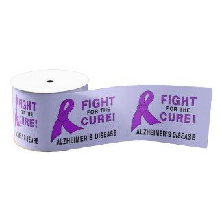 De Strijd van de Ziekte van Alzheimer voor Grosgrain Lint