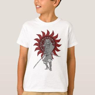 De Strijder Japan van samoeraien T-shirt