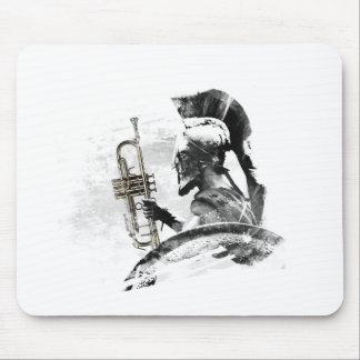 De Strijder van de trompet Muismat