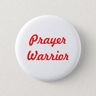 De Strijder van het gebed Ronde Button 5,7 Cm