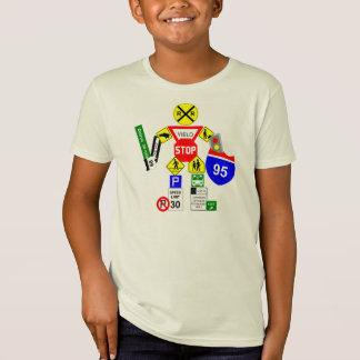 De Strijder van het Teken van de straat T Shirt