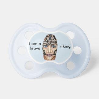 De Strijder van Viking - realisme het schilderen Fopspeentjes