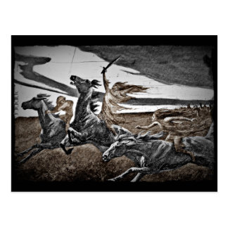 De Strijders van Viking van vrouwen Briefkaart