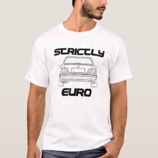 De strikt Euro Witte T-shirt van BMW E36