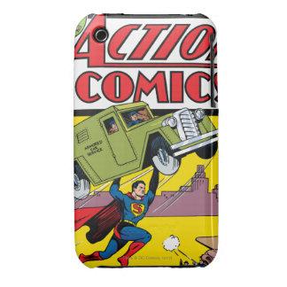 De Strippagina van de actie #33 iPhone 3 Hoesje