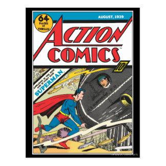 De Strippagina van de actie - Augustus 1939 Briefkaart