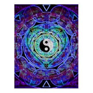 De Stroom van de Energie van Yang van Yin Briefkaart
