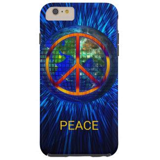 De stropdas-geverfte Vrede van de Hippie van jaren Tough iPhone 6 Plus Hoesje