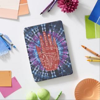 De stropdas-Kleurstof van de Lezing van de Palm iPad Pro Cover