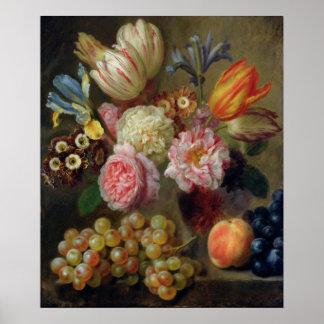 De Studie van de bloem Poster