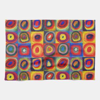 De Studie van de kleur door Wassily Kandinsky Handdoeken