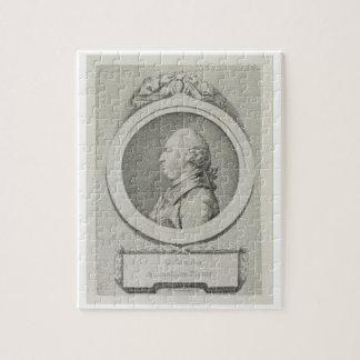 De studie van het portret van George Stubbs (1724- Foto Puzzels