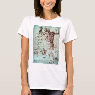 De Studies van Buonarroti van Michelangelo voor T Shirt