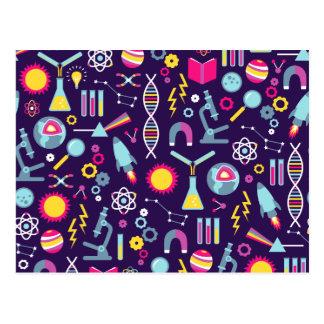De Studies van de wetenschap Briefkaart