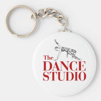 De studio van de Dans, Jazz Keychain Sleutelhanger