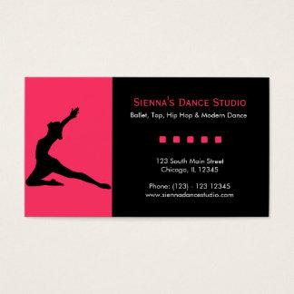 De Studio van de dans Visitekaartjes