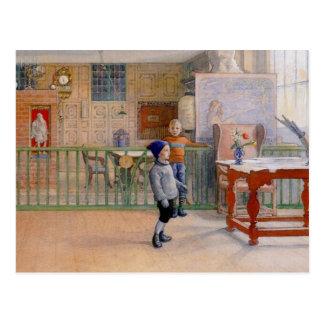 De Studio van Sunborn van Carl Larsson Briefkaart