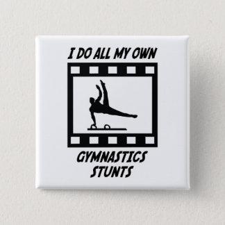De Stunts van de gymnastiek Vierkante Button 5,1 Cm