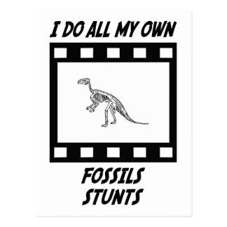 De Stunts van fossielen Wens Kaart