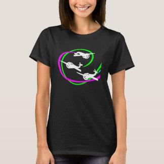 De stuntvliegtuigen van Aerobatic met levendige T Shirt