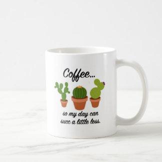 De succulente Mok van de Koffie - linkshandige