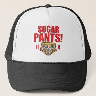 De suiker hijgt Bloemrijk Trucker Pet