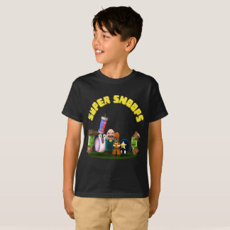 De super Detectives van Jr. Snoops T Shirt