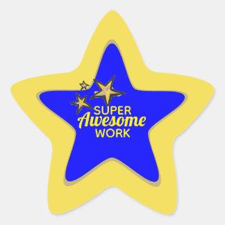 De super Geweldige Stickers van het Werk