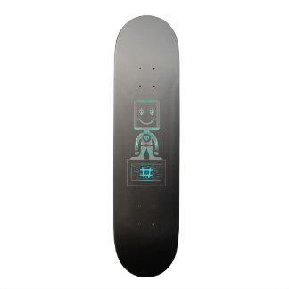De Super held van het Label van de knoeiboel 20,6 Cm Skateboard Deck