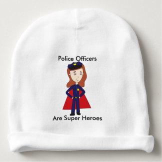De Super Helden van politiemannen (Vrouw) Baby Mutsje