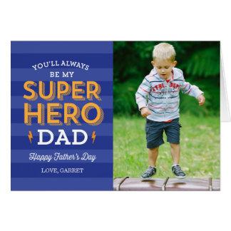 De super Kaart van de Foto van het Vaderdag van de Kaart