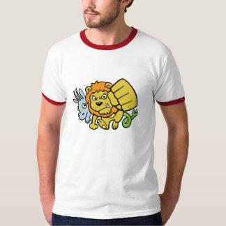 De super Mascotte T van de Stempel T Shirt