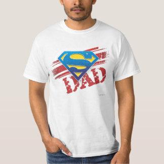 De super Strepen van de Papa T Shirt