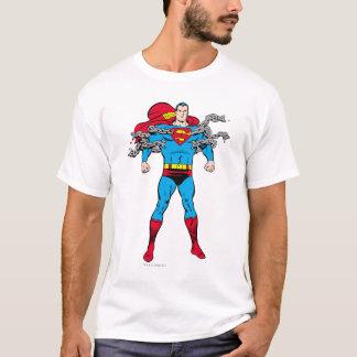 De superman breekt Kettingen T Shirt