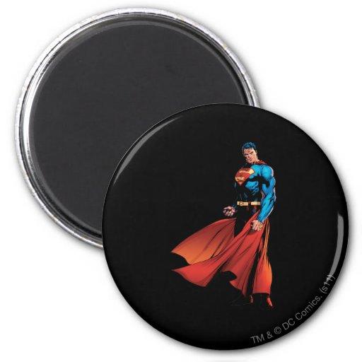 De superman kijkt Voor Magneet