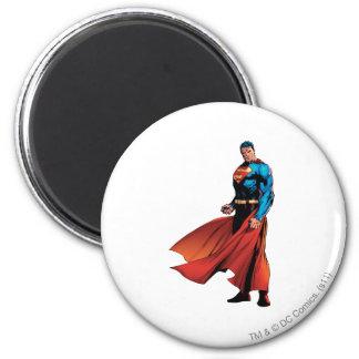 De superman kijkt Voor Koelkast Magneetje