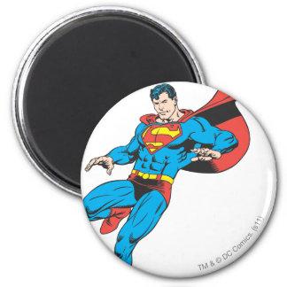 De superman landt licht 2 ronde magneet 5,7 cm