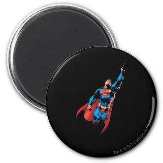 De superman stijgt ronde magneet 5,7 cm