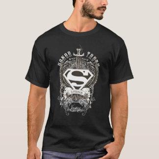 De superman stileerde de Eer van |, Waarheid op T Shirt