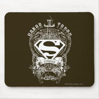 De superman stileerde het Logo van de Eer, van de Muismat
